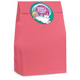 Birthday Celebration Personalized Favor Bag (12 Pack)