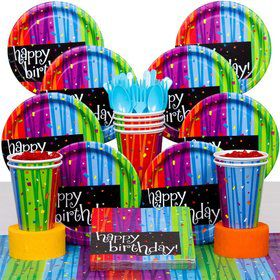 Birthday Celebrations Birthday Party Deluxe Tableware Kit
