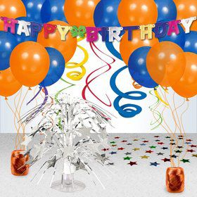BIRTHDAY CELEBRATIONS DECORATION KIT