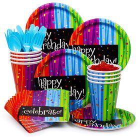 Birthday Celebrations Standard Tableware Kit