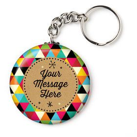 "Birthday Craft Personalized 2.25"" Key Chain (Each)"