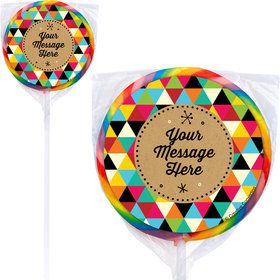 Birthday Craft Personalized Lollipops (12 Pack)