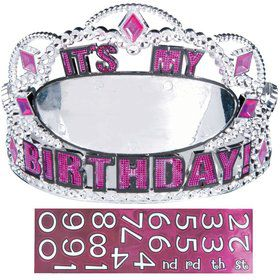Birthday Customizable Tiara