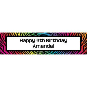 Birthday Doodle Personalized Banner (Each)