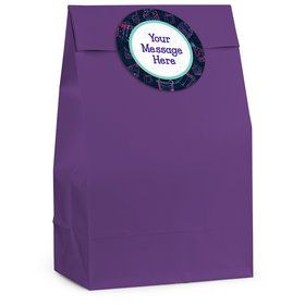 Birthday Doodle Personalized Favor Bag (12 Pack)