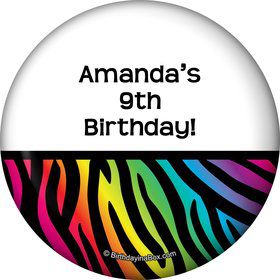 Birthday Doodle Personalized Magnet (Each)