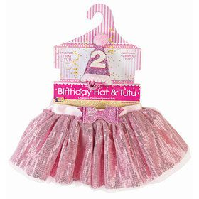Birthday Girl Hat & Tutu Set