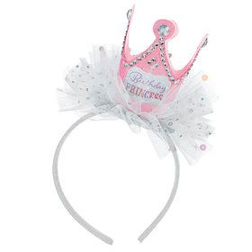 Birthday Princess Crown Felt Headband (Each)