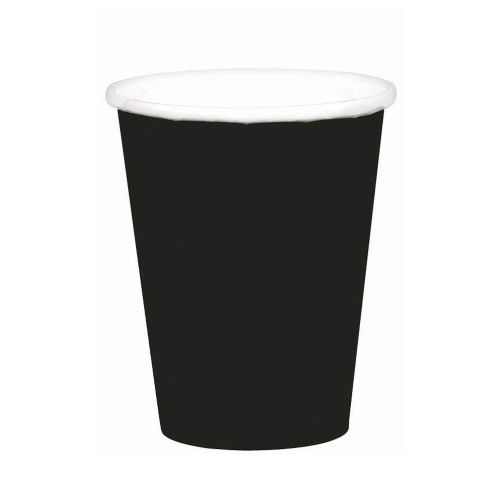 Black 9oz. Paper Cups (8 Pack) BB5801510