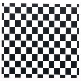 Black and White Check Activity Placemat (Each)