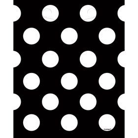 Black Dots Loot Bags (8 Count)