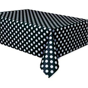 Black Dots Table Cover (Each)