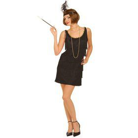 Black Flapper Costume Adult