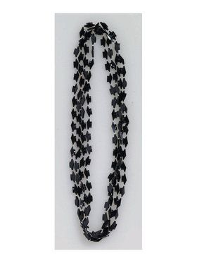 Black Graduation Beads (4 pack)
