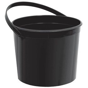 Black Plastic Bucket (Each)