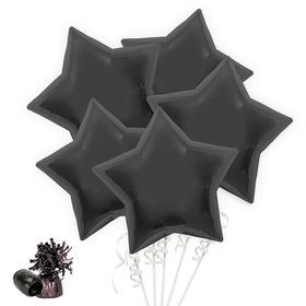 Black Star Balloon Bouquet Kit