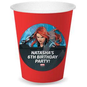 Black Widow Personalized Cups (8)