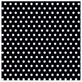 Black with Polka Dots Jumbo Gift Wrap