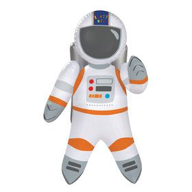 Blast Off Birthday Inflatable Astronaut