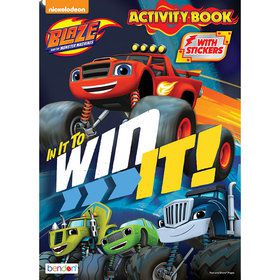 Blaze Activity Book with Stickers