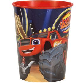 Blaze and the Monster Machines 16oz Plastic Favor Cup (Each)