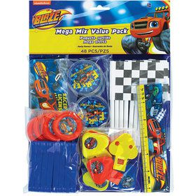 Blaze and the Monster Machines 48 Pc Mega Mix Value Pack Favors