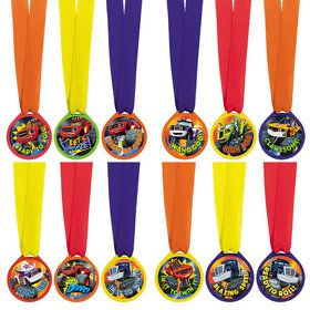 Blaze and the Monster Machines Award Medal Favors (12 Pack)