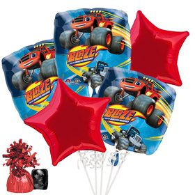 Blaze and the Monster Machines Balloon Bouquet Kit