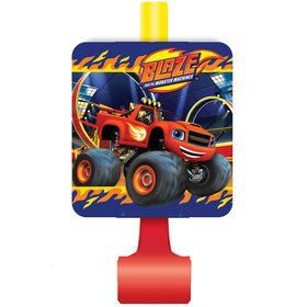 Blaze and the Monster Machines Blowouts (8 Count)