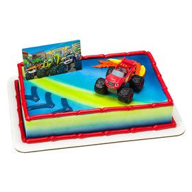 Blaze and the Monster Machines Cake Decoration Set
