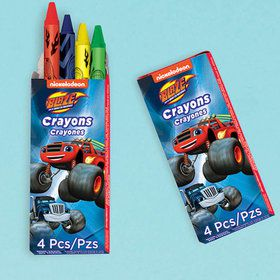 Blaze and the Monster Machines Crayons Favors