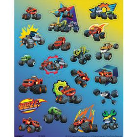 Blaze and the Monster Machines Stickers (4 Sheets)