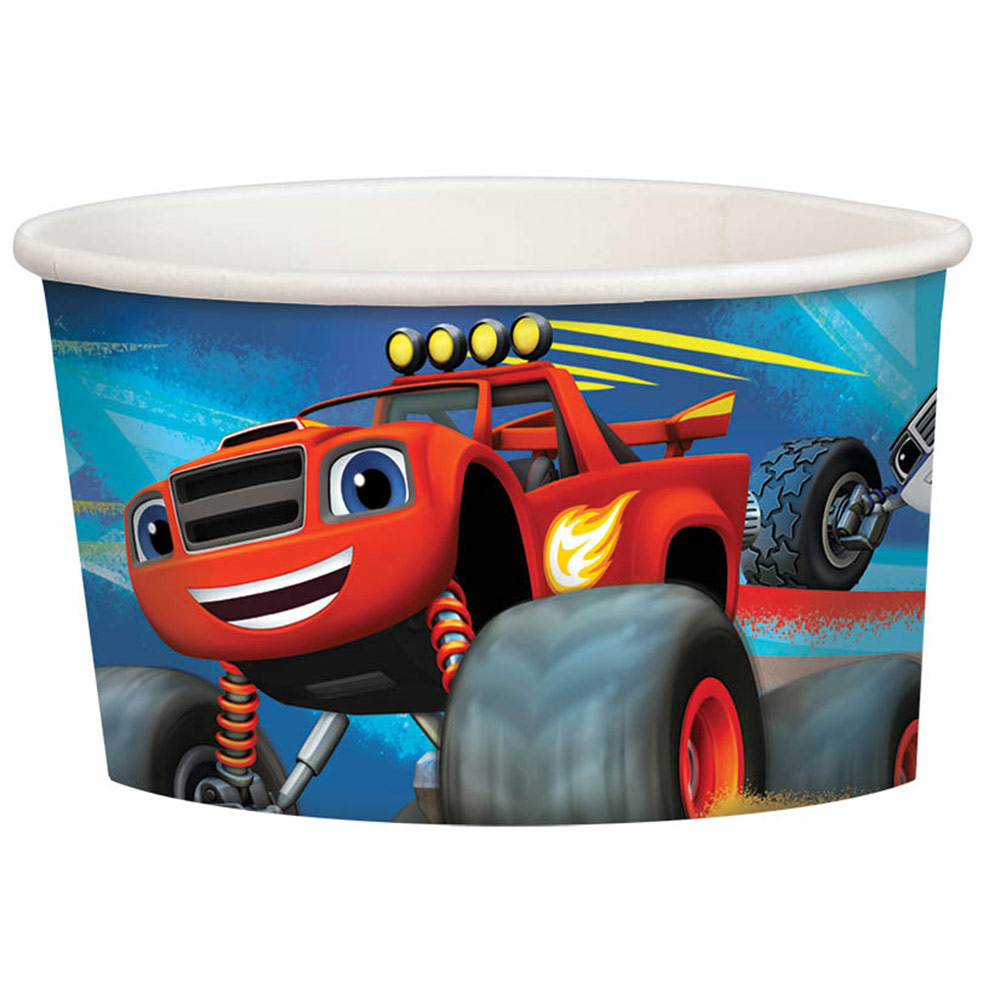 Blaze and the Monster Machines Treat Cups (8 Pack) - Party Supplies BB431582