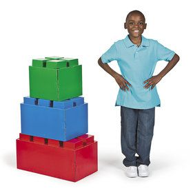 Block Party 3D Brick Stand Ups Set