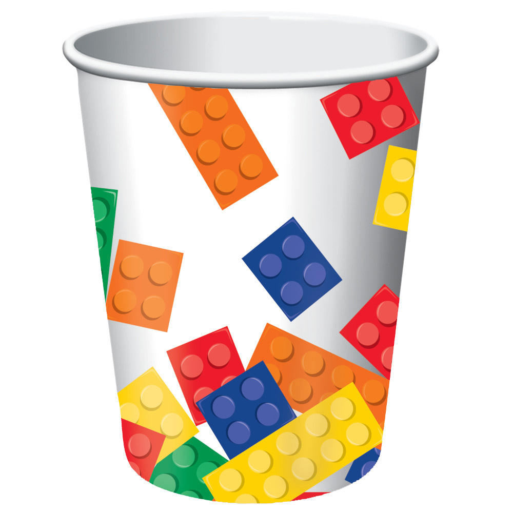Block Party Supplies 9 oz Cups (8 Count) BB102054A