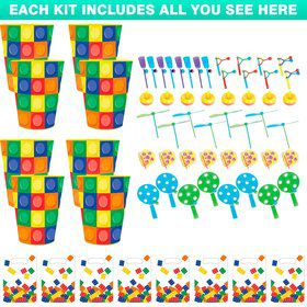 Block Party Favor Kit (For 8 Guests)