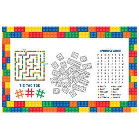 Block Party Personalized Activity Mat (Each)