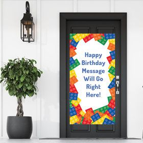 Block Party Personalized Banner 30 X 60 Inches (Each)