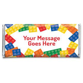 Block Party Personalized Candy Bar Wrapper (Each)