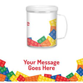 Block Party Personalized Favor Mug (Each)