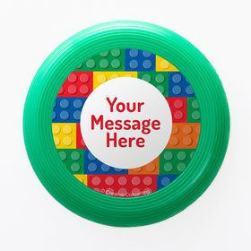 Block Party Personalized Mini Discs (Set of 12)