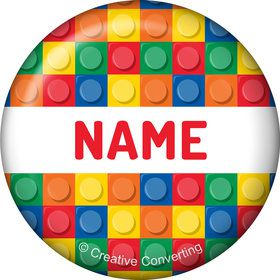 Block Party Personalized Mini Magnet (Each)