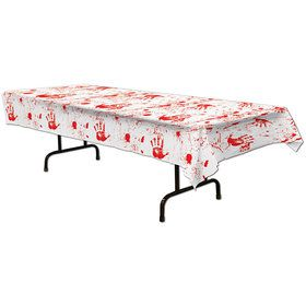 Bloody Handprints Table Cover (Each)