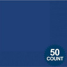 Blue 2-Ply Luncheon Napkins, 50 ct.