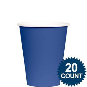 Blue 9 oz. Paper Cups, 20 ct.