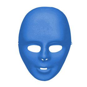 Blue Adult Face Mask