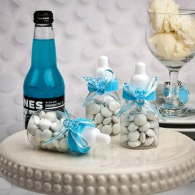 Blue baby Bottle Favor (Each)