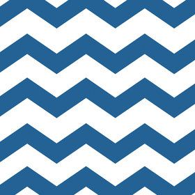 Blue Chevron & Dots Luncheon Napkins (16 Count)