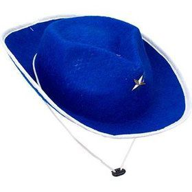 Blue Cowboy Hat (each)
