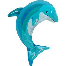 "Blue Dolphin 31"" Balloon (each)"
